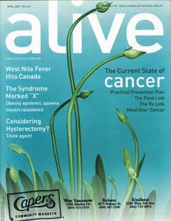 Alive cover April 2003 low-res