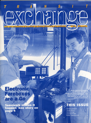Transit Exchange cover 2001